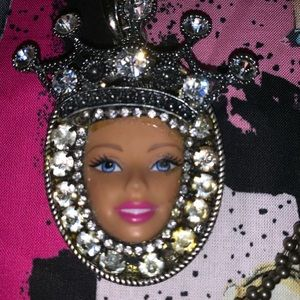 Barbie Jewelry - 💖Unique BARBIE Necklace rhinestones 💖